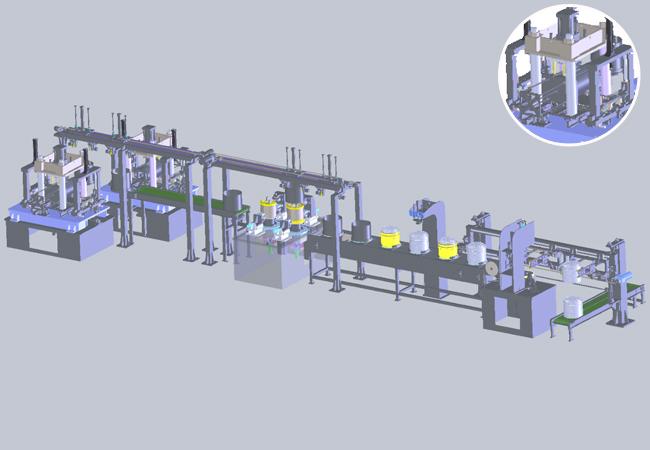 洗衣机内桶自动化生产线