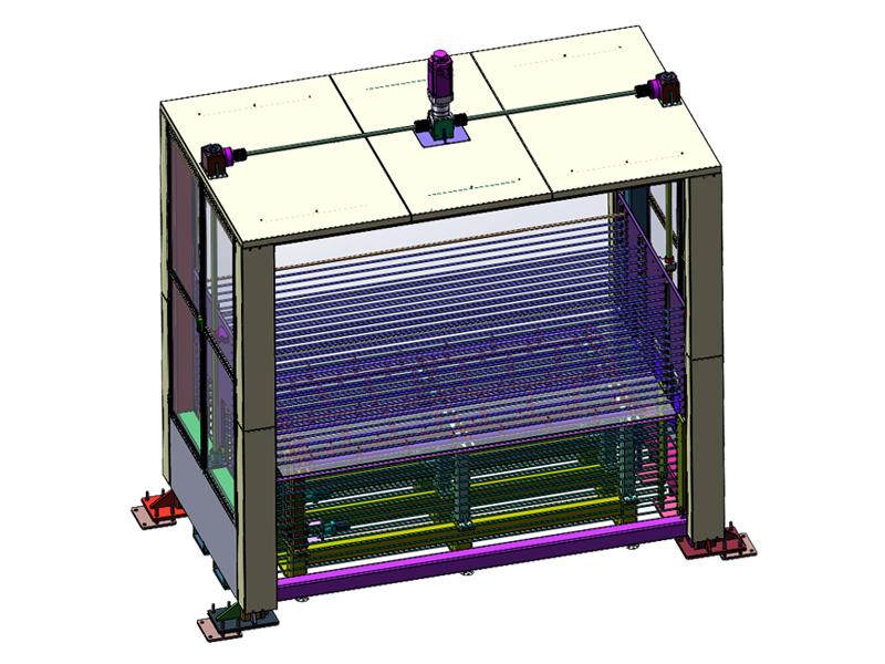 玻璃储片机
